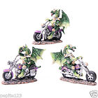 DRAGONS BIKERS FIGURINES LOT DE 3
