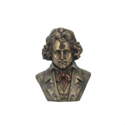 BUSTE BEETHOVEN FACON BRONZE STATUE SCULPTURE