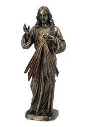 DIEU MISERICORDE FACON BRONZE STATUE SCULPTURE