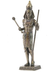 PHARAON FACON BRONZE STATUE SCULPTURE