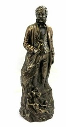 JOHANN STRAUSS BRONZE STATUE SCULPTURE